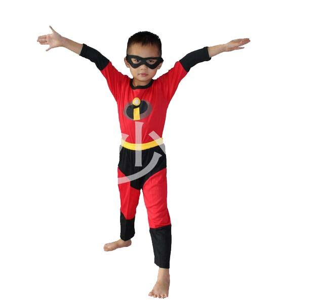 the incredibles costume halloween costume for kids disfraces carnaval child anime cosply boy long sleeve clothing set