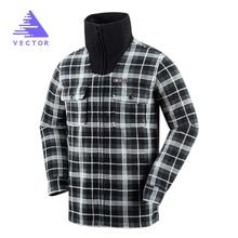 VECTOR Warm Winter Sweaters Men Long Sleeve Windproof Outdoor Travel Sport Sweaters Male Sports Clothing 90006