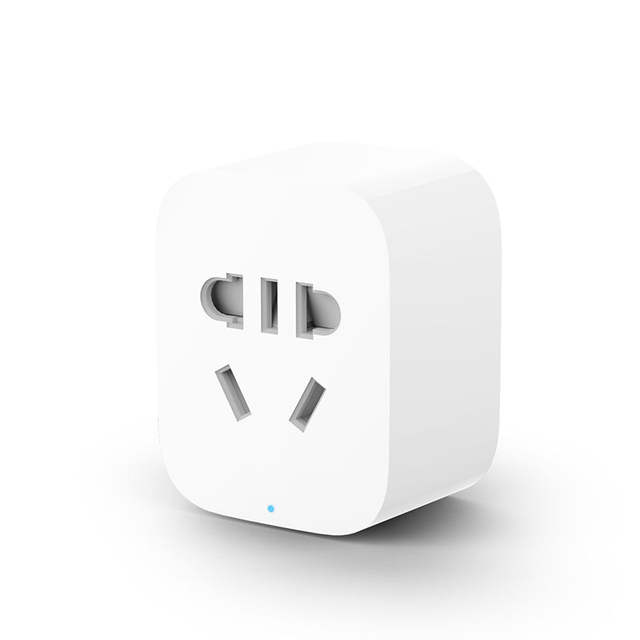 US $11 14 35% OFF In Stock Newest Xiaomi Smart Socket Plug Basic Socket  Plug Power WiFi Version Socket EU Control With Phone APP Itelligent Plug  -in