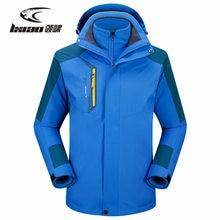 LXIAO Winter Hiking Jackets For Men Windbreaker Waterproof Breathable Ployester Jacket Outdoor Sport Camping Mens Coats