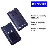 Литий ионный аккумулятор bl1203 74 в 1200 мАч для двухсторонней
