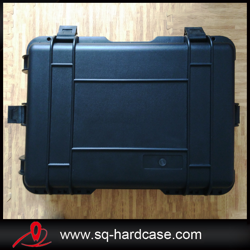 tool boxes with foam Black ABS Plastic Hard Case for Camera Equipment Carrying Case shockproof sealed portable tool case