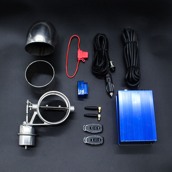 Vacuum Exhaust Valve Cutout  Pipe Valve Kit 3.5inch OBD Variable Remote & Rotate Speed Control Sounds Normal Open