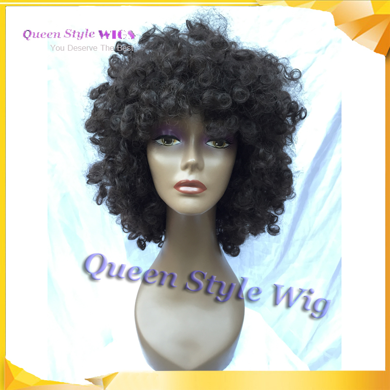 Hot Sale African Dirty Hair Wig, Afro Fluffy