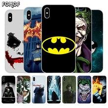 Fundas Silicone Phone Back Case For Apple iPhone 6 6S 7 8 Plus X 10 XS MAX XR 5 5S SE Heart Cover Batman Joker Dark Knight терафлю пор д р ра внутр лесные ягоды n10