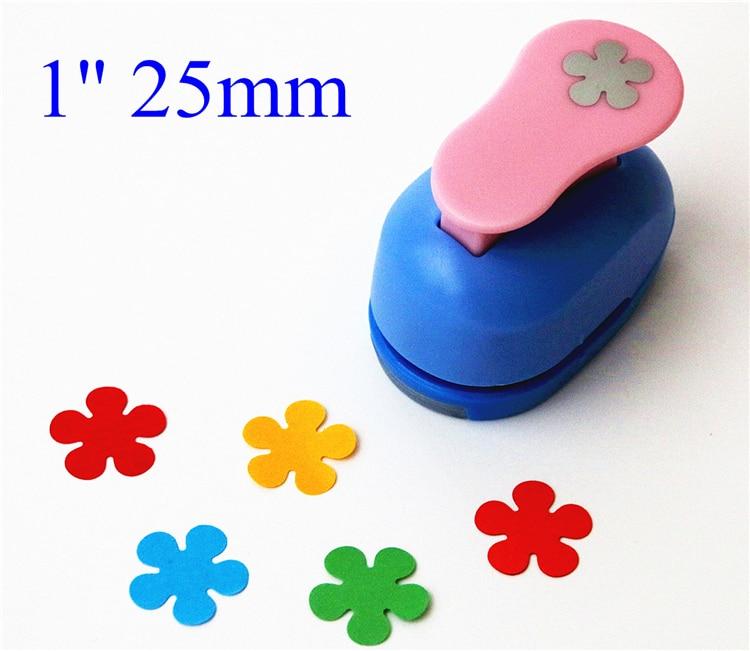 2.5cm Flowers Punch Diy Craft Hole Punch Eva Foam Puncher Kids Scrapbook Paper Cutter Scrapbooking Punches Embossing