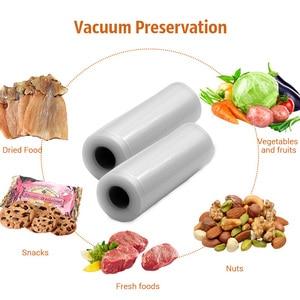 Image 2 - Tinton生活の台所食品真空バッグ保存袋真空シーラー食品新鮮なロング維持 12 + 15 + 20 + 25 + 28 センチメートル * 500 センチメートル 5 rolls/ロット