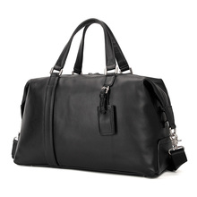 Augus Real Leather Travel Bags Weekend Bag Large Capacity Handbags For Women and Men 6007A