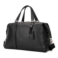 J.M.D Real Leather Travel Bags Weekend Bag Large Capacity Handbags For Women and Men 6007A
