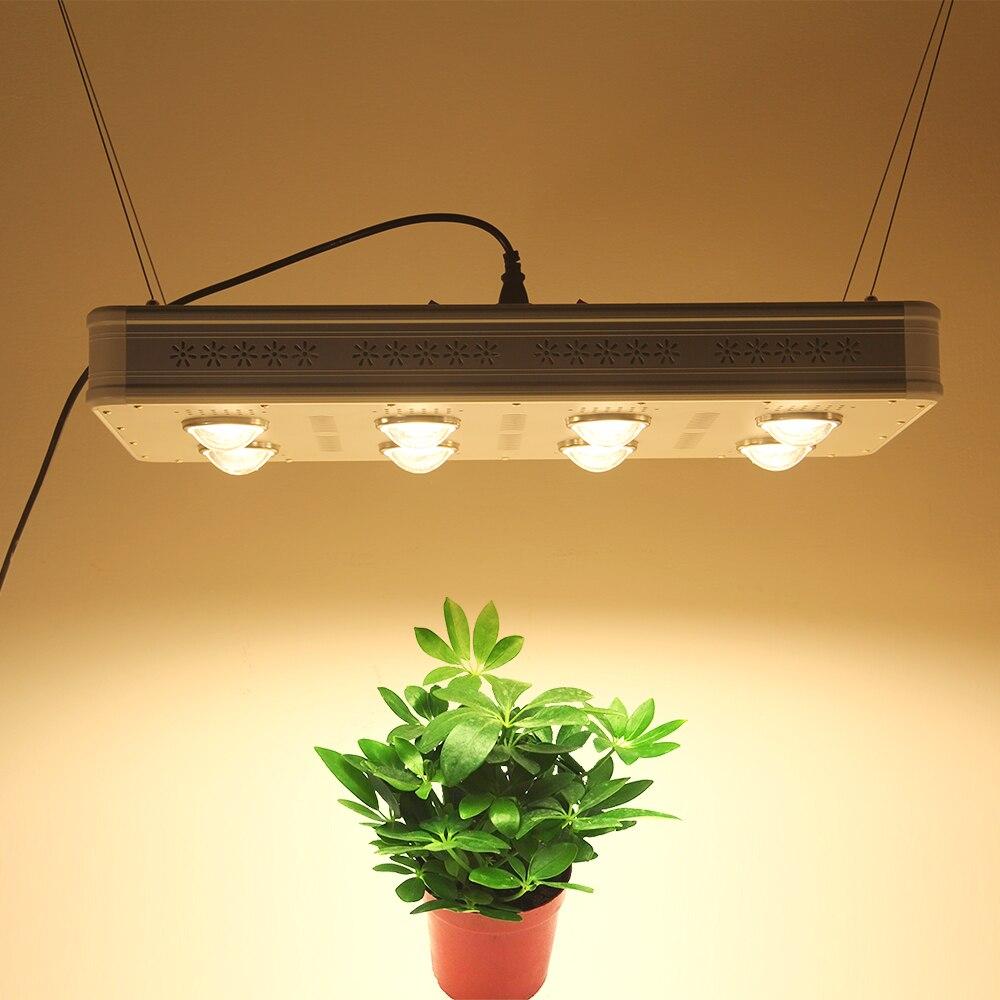 640W LED Grow Light 3000K COB Full Spectrum Including UV IR Daisy Chain For Indoor Hydroponics Plants
