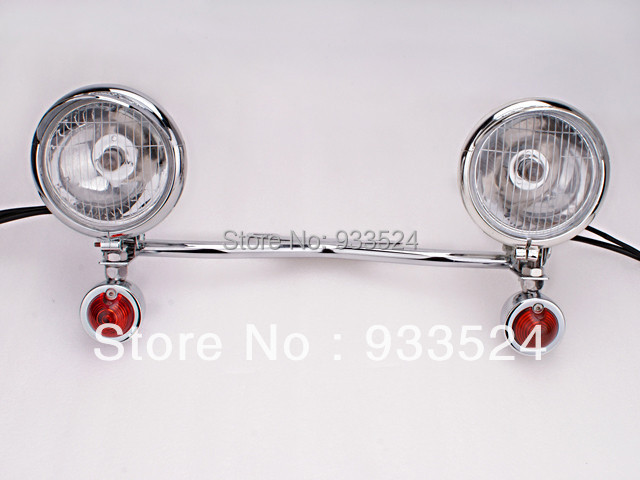 все цены на Amber Driving Passing for Suzuki Turn Signal Yamaha Spot Light Bar Intruder VS C50 C90 LS650 VL800 V Star Royal Star VMax XVS XV онлайн