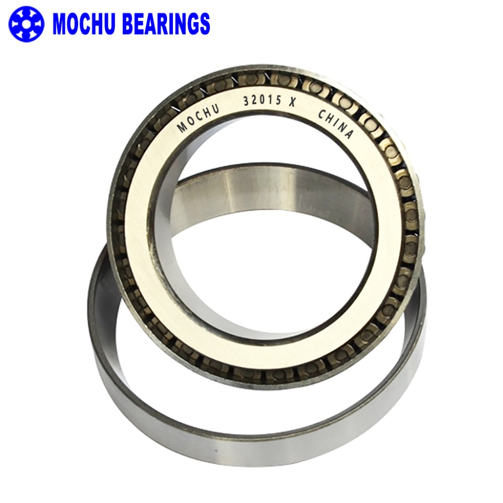 1pcs Bearing 32015 X 75x115x25 32015-X 32015X/Q 2007115 E Cone + Cup MOCHU High Quality Single Row Tapered Roller Bearings high quality 1 75