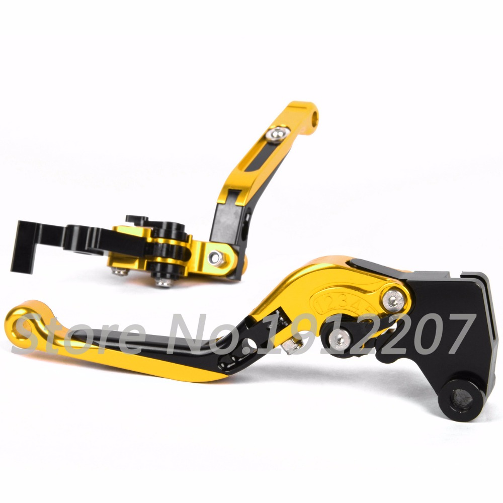 ФОТО For Suzuki GSF600 BANDIT 1995-1999 Foldable Extendable Brake Clutch Levers Aluminum Alloy CNC Folding&Extending Levers Hot Sell
