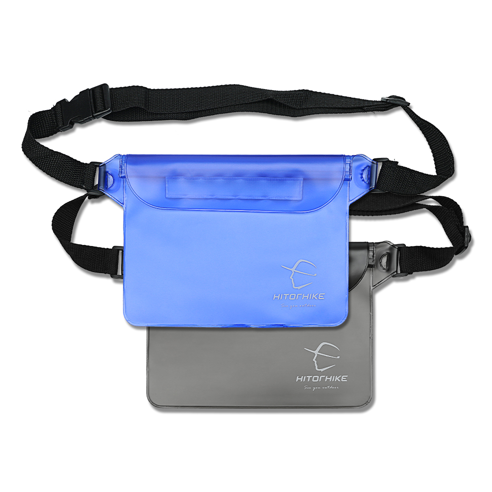 Hitorhike Sports Outdoor Camping Climbing Hiking Waist Bags Waterproof Pouch Dry Bag Case With Waist Shoulder Strap Pack New