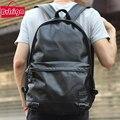 BVLRIGA mochilas Homens mochila de alta qualidade saco dos homens laptop mochila de couro mochila sacos de viagem grandes sacos de escola para adolescentes