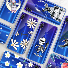 Patterned Case Shell Coque For Xiaomi Redmi 7 6 6A Pro Pocop