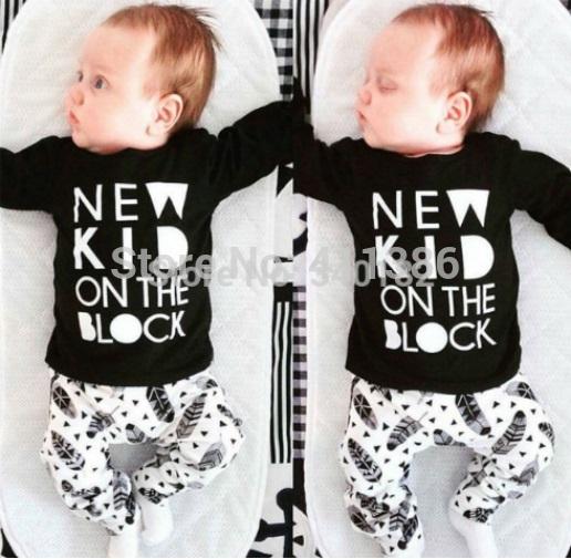 ST189 2017 Nowa dziewczyna przyjazdu i chłopców ubrania ustawić długi rękaw + Spodnie sowa wzór zestaw noworodka ubrania dla dzieci garnitur dzieci odzież 30