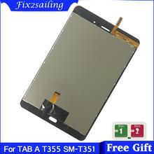 Ensemble écran tactile LCD, pour Samsung Galaxy Tab A SM T355 T355, nouveau
