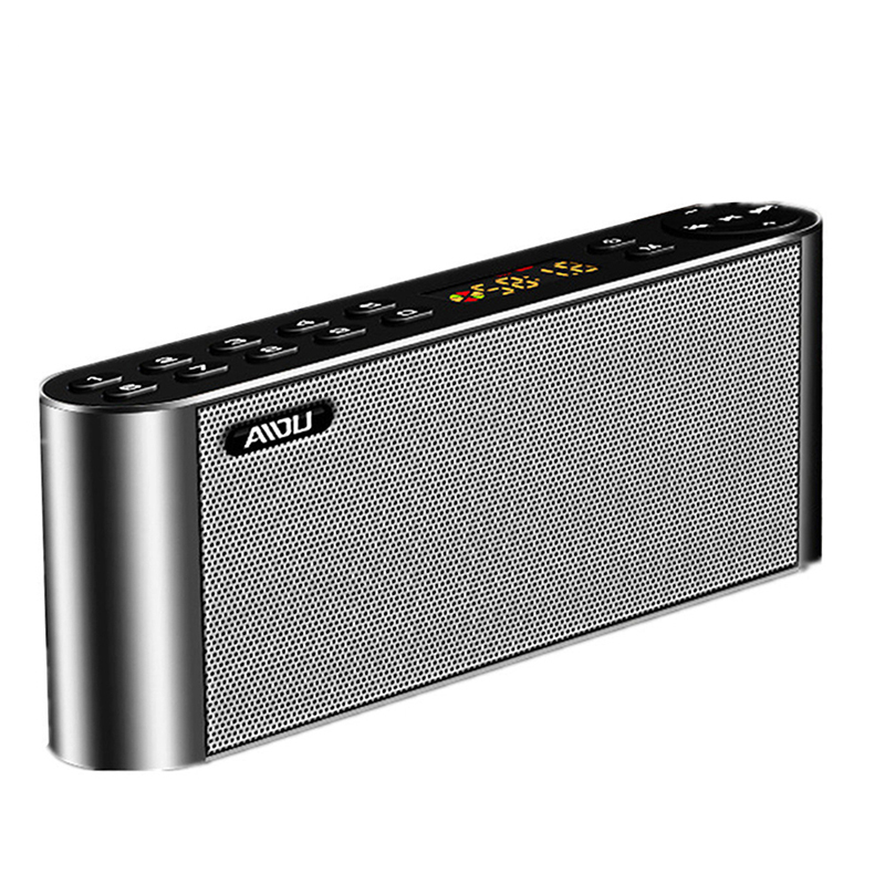 Stereo Bluetooth Speaker Wireless Portable Clear Music box speaker Built-in Mic speaker USB TF FM AUX for Phone
