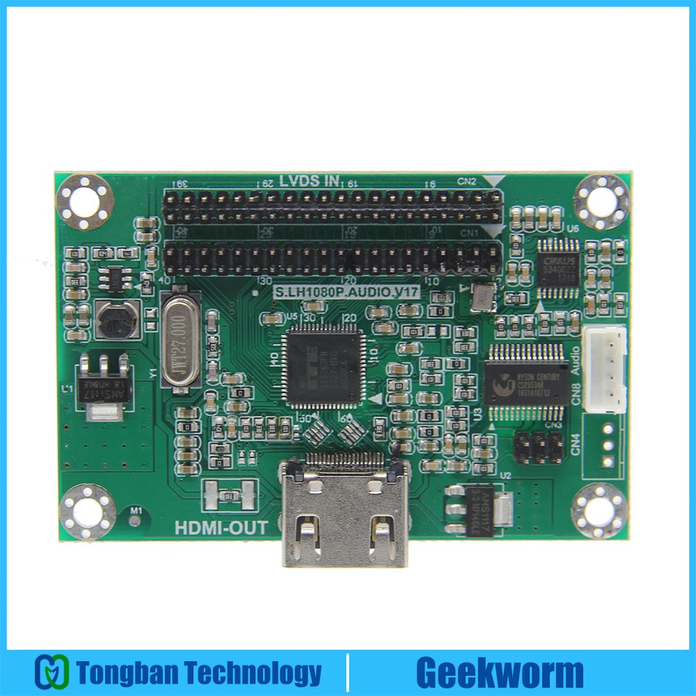 LVDS To HDMI Adapter Board Converter Compatible with 1080P Resolution