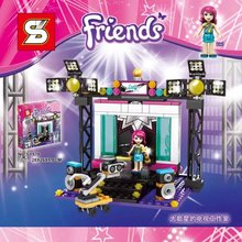 SY578 Friends Television Studio Big Pop Star Singer Minifigures Building Block Minifigure Toys Best Toys