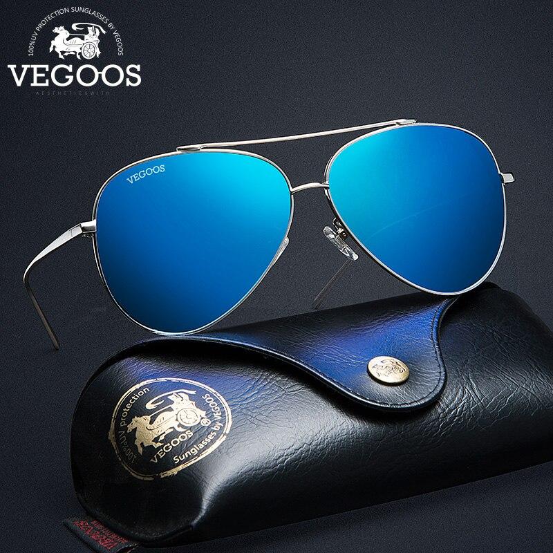 VEGOOS New Arrival Pilot Aviation Men Polarized Sunglasses Anti UVA UVB Brand Designer Fashion Sun Glasses Eyewear Pilots #3132