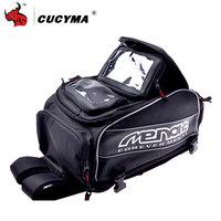 CUCYMA Motorcycle Bag Waterproof Motorcycle Backpack Multi function Motorcycle Tank Bag Moto Bag