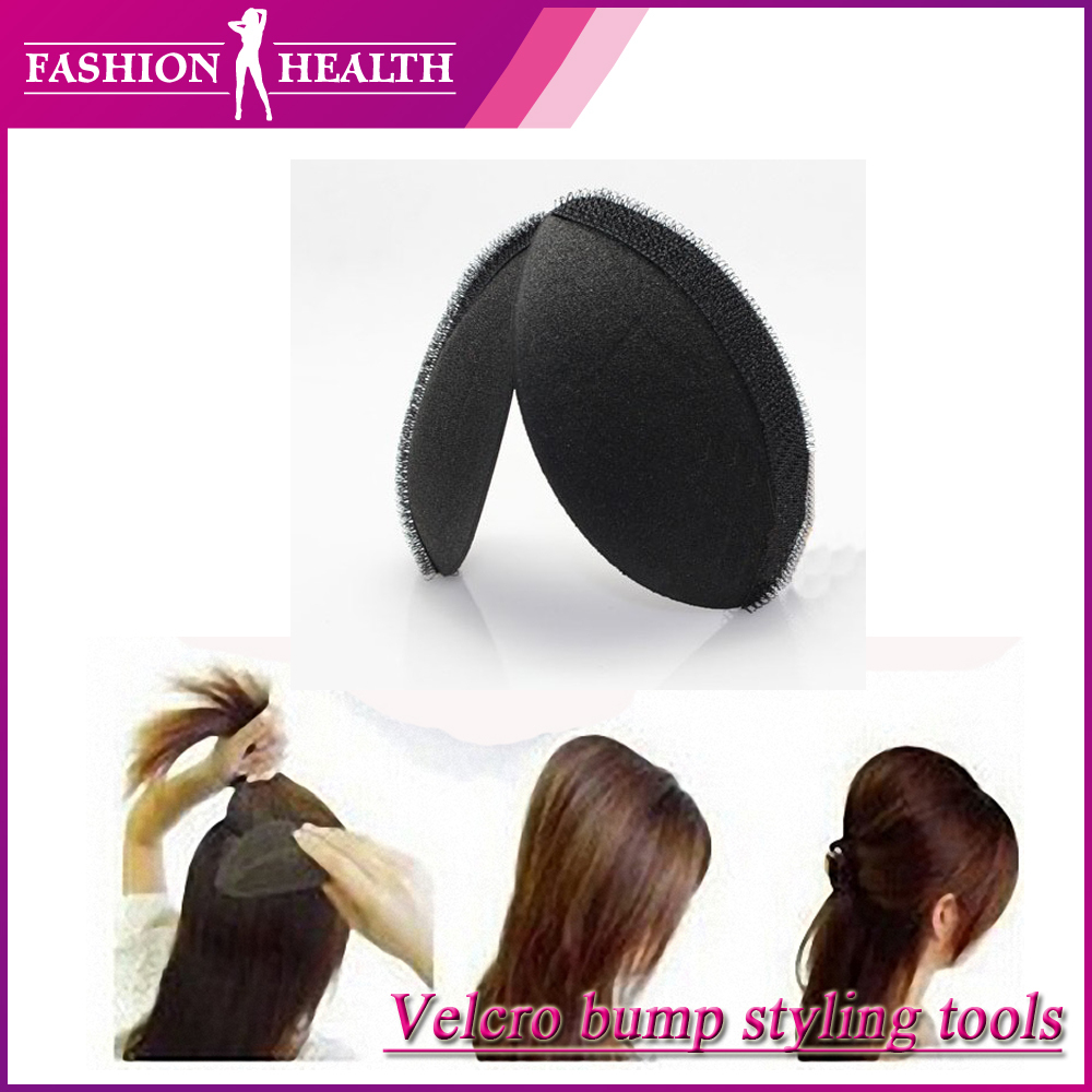 A pair of Volume Hair Base Velcro Bump styling insert Tool Free ...