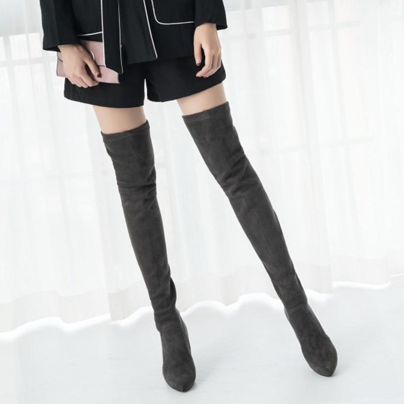 2017 г. лидер продаж, женские зимние сапоги выше колена ботинки с высоким golem модные ботинки на осень качество sami комфорт на quadrant парня большие размеры alf516