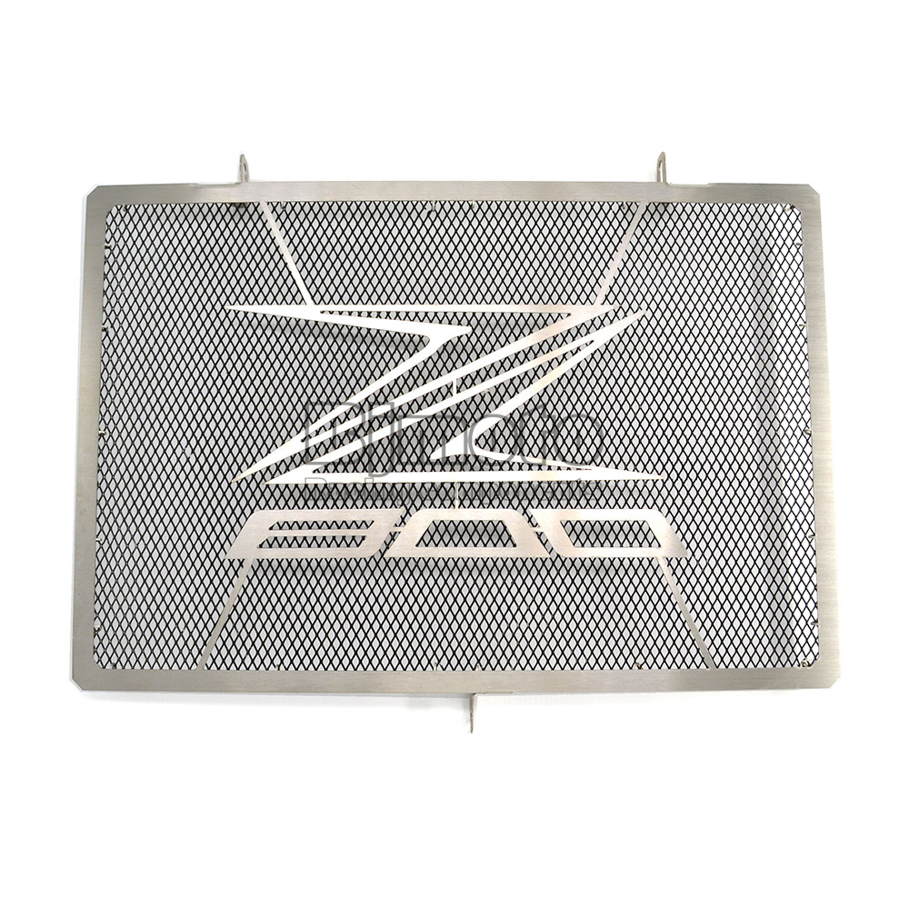 RG-KA003-BK Motorcycle Stainless Steel RADIATOR GUARD COVER Protector For KAWASAKI Z800 2013 2014 2015 2016 2017 motorcycle radiator grill grille guard screen cover protector tank water black for bmw f800r 2009 2010 2011 2012 2013 2014