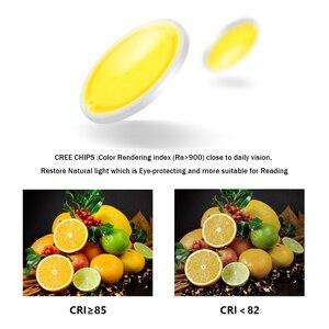 Image 5 - [DBF] גבוהה השתקפות משטח רכוב Downlight 15W 20W AC85 265V עגול LED תקרת ספוט אור לסלון חדר שינה מסדרון
