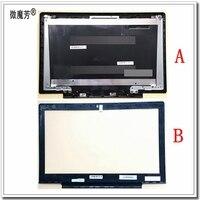 New LCD top bìa trường hợp Đối Với Lenovo CHO Ideapad 700-15 700-15isk Máy Tính Xách Tay LCD Bìa Đen & LCD Front Bezel Bìa