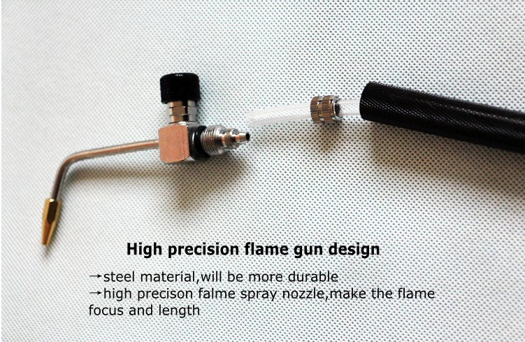 acrylic polishing machine flame gun