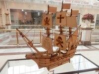 Model boat ship/Wooden model kit Corsair /pirate ship sail boat model free shipping Z007