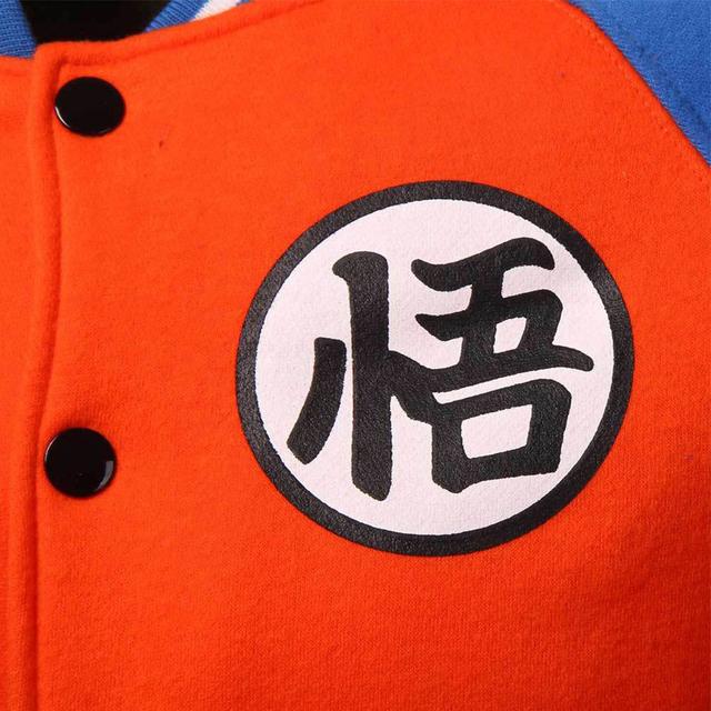 Anime Dragon Ball Z Goku Jacket