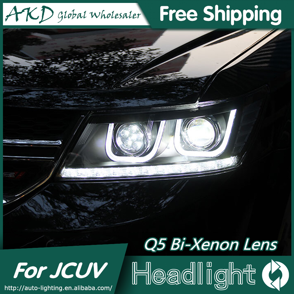 Cheap Akd Car Styling For Dodge Jcuv Headlights 2008 2015 New