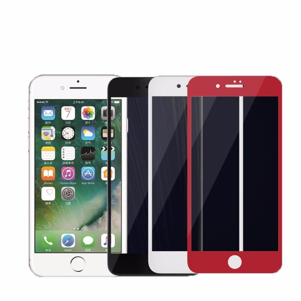 imágenes para Cubierta completa de vidrio templado para apple iphone 7/7 más protector de pantalla nillkin 3d ap + pro de pantalla completa pantalla de vidrio templado para el iphone 7