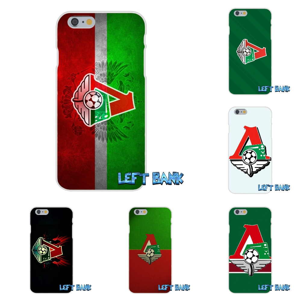 For iPhone 4 4S 5 5S 5C SE 6 6S 7 Plus Lokomotiv Moscow logo Soft Silicone TPU Transparent Cover Case