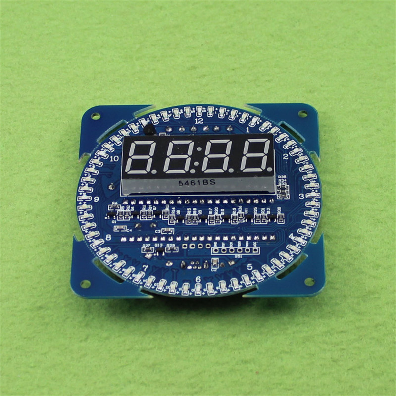 DS1302 Rotating LED Display Alarm Clock Module LED Temperature Display