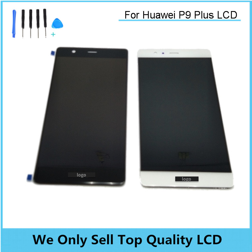 Replacement LCD for HUAWEI P9 Plus Display Screen with Touch Screen Digitizer No Frame Assembly Free DHL Shipping 10pcs/lot replacement lcd for huawei p9 plus display screen with touch screen digitizer with frame assembly wholesale 10pcs lot free dhl