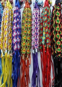 Wholesale 120p Colorful Braided Woven Friendship Bracelet Wide Retro Handmade Nepal Geneva Brazilian Multicolor String Cord 1