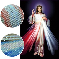 DIY 5d Diamond Painting Jesus Religious Icon Pearl Painting Diamond Embroidery Pictures Rhinestones Patchwork Gift Wall