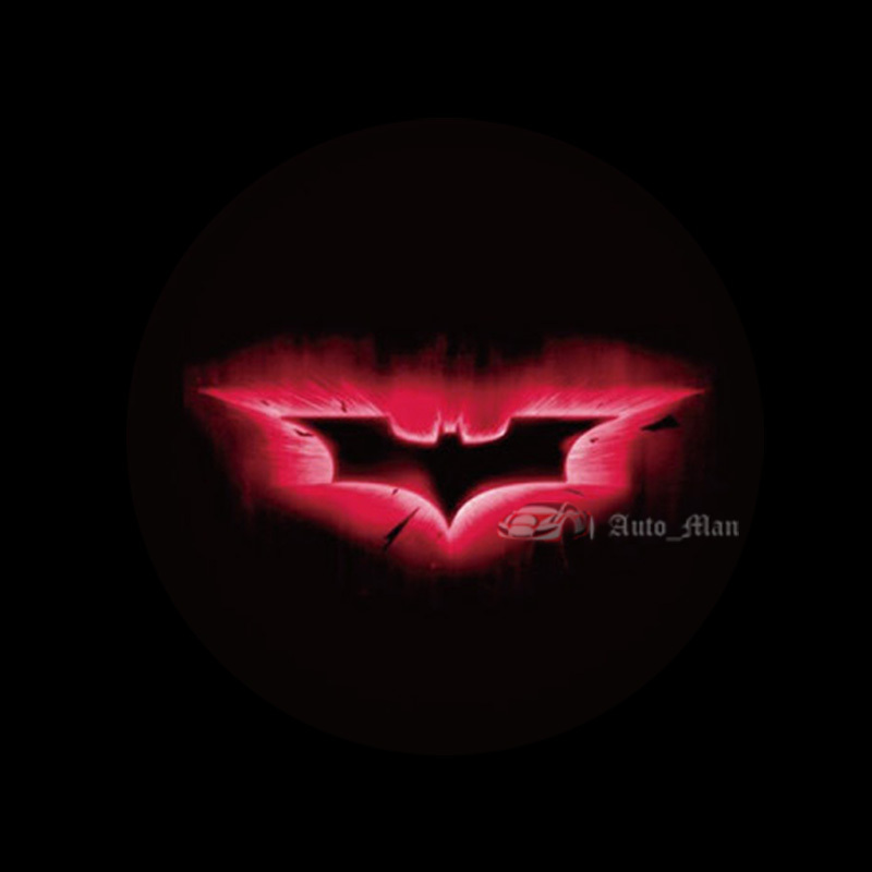 3d Dark Knight Batman Logo Car Cigarette Dome Roof Laser Projector