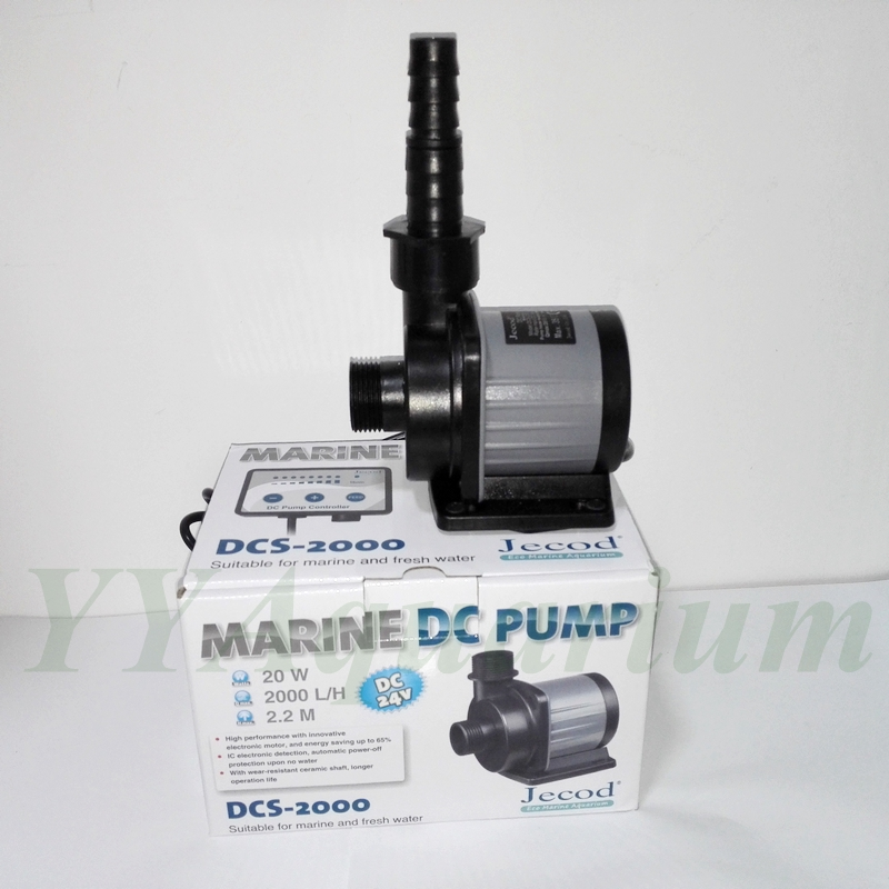 NEW JEBAO DCS2000 DC2000 SUBMERSIBLE WATER PUMP W/ SMART CONTROLLER FISH TANK MARINE PONDS DC ECO PUMP AQUARIUM 110V 220V