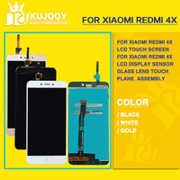 10pcs For Xiaomi Redmi 4X LCD Touch Screen For Xiaomi Redmi 4X LCD Display Sensor Glass