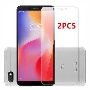 2 PCS للزجاج Xiaomi Redmi 6 6A واقي للشاشة الزجاج المقسى ل Xiaomi Redmi 6 الزجاج Redmi 6A واقية شريحة هاتف