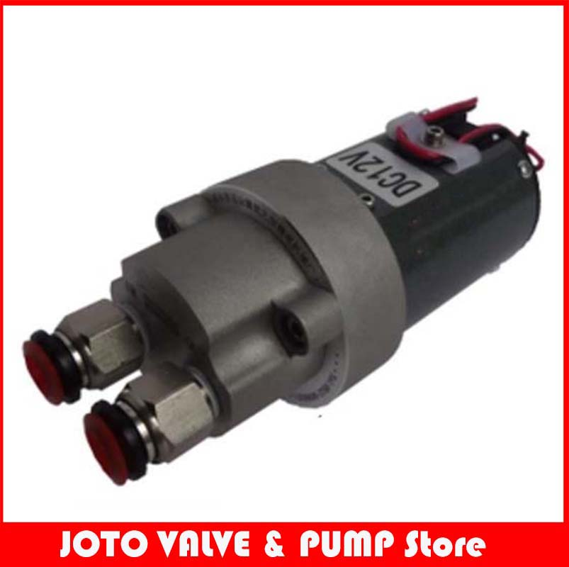 12V /24v Micro Self-suction Gear Oil Pump DC Waster Oil Transfer Pump