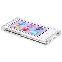 New Crystal Clear Transparent PC Hard full Boby Protection Skin Case Cover For Apple iPod Nano 7 cases Nano7 7G 7th fundas coque