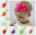 2014 New Korean Hair Bows Headband for Baby and  Ribbon Bows Hair Band (15 color choose ) Children Hair Accessory 20pcs/lot