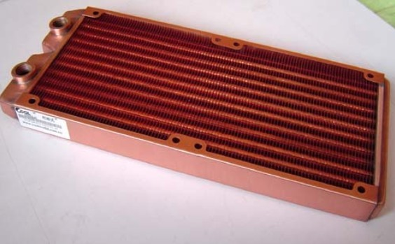 ФОТО Full Top copper 240P katyusha 240t computer water cooling radiator water cooling
